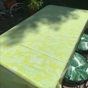 Vintage Lilly Pulitzer The Lilly Tablecloth 72 x48